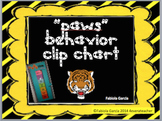 PAWS Behavior Clip Chart