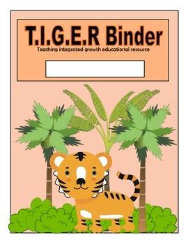 Tiger Homework Communication Binder