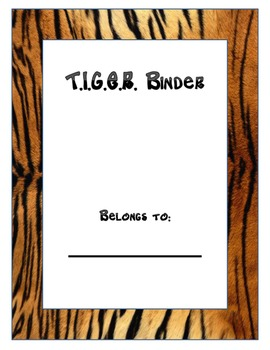 Tiger Binder Cover