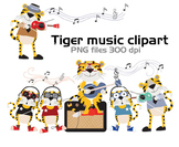 Tiger Clipart Instant Download PNG file - 300 dp
