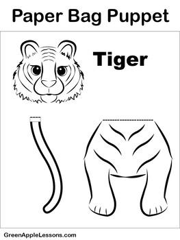 Tiger Craft | Tiger Activity | Tiger Art
