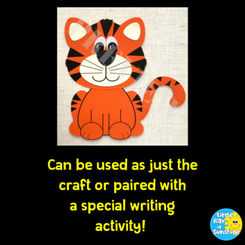 Tiger Craft for Jungle or Zoo