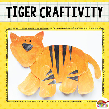 Tiger Craftivity Template
