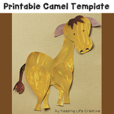 Camel Craftivity Template