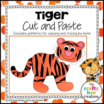 Tiger Cut and Paste