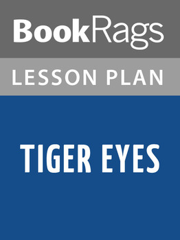 Tiger Eyes Lesson Plans