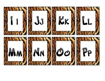 Tiger-Jugle-Safari Packet Set