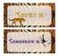 Tiger-Jungle-Safari Calendar Set