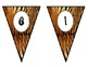 Tiger-Jungle-Safari Welcome Pennants
