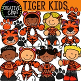 Tiger Kids: Tiger Clipart {Creative Clips Clipart}