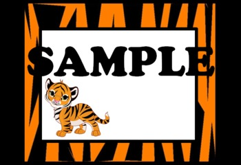 Tiger Labels