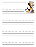 Tiger Lined Primary Lined Paper