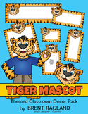 Tiger Mascot Themed Classroom Decor Pack