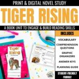 Tiger Rising Novel Study Unit