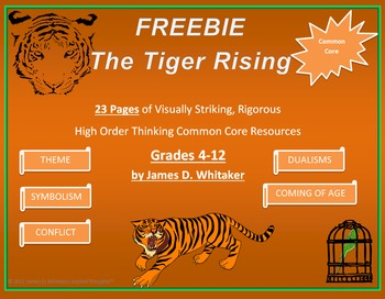 tiger rising essay Watch video  title: crouching tiger, hidden dragon (2000) 79 /10 want to share imdb's rating on your own site use the html below you must be a registered.