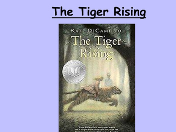 Tiger Rising PowerPoint Novel Study