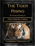 THE TIGER RISING by Kate DiCamillo - Discussion Cards PRIN