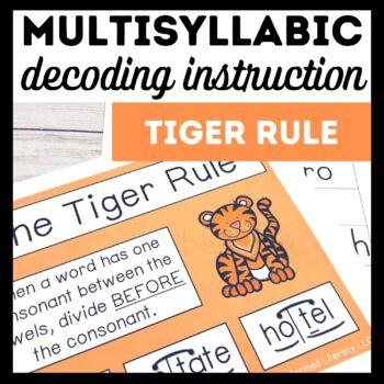 Tiger Rule Book 3-Multisyllabic Word Study