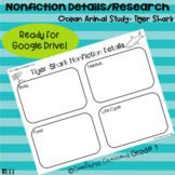 Tiger Shark Nonfiction Key Details Research