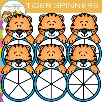 Tiger Spinners Clip Art