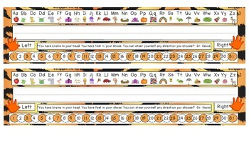 Tiger Stripes Desk Reference Nameplates