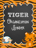 Tiger Student Organization and Parent Communication Binder {personalize it}