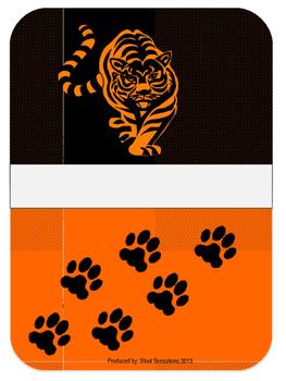 Tiger Teacher Binder Set Editable