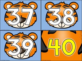 Tiger Theme Decor Pack