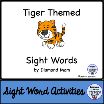 Tiger Themed Dolch Sight Words