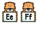 Tiger/Zoo Theme Word Wall