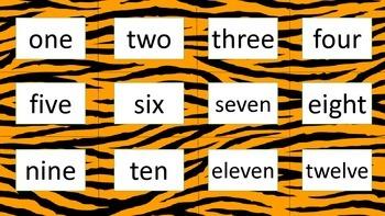 Tiger classroom bundle