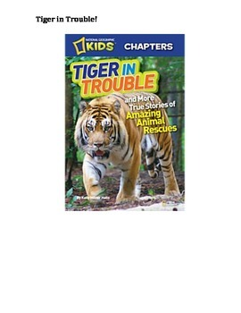 Tiger in Trouble! Book Study