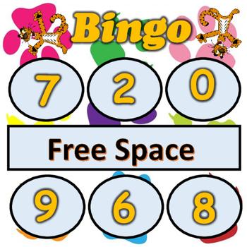 Tiger's Number Bingo
