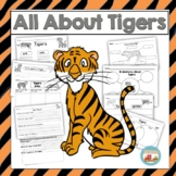 All About Tigers, Writing Prompts, Graphic Organizers, Diagram