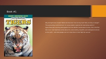 Tigers Pre- Reading strategies power point