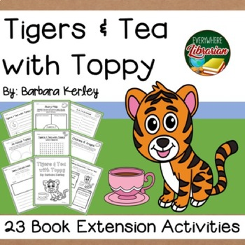 Tigers and Tea with Top by Kerley Charles R. Knight Biography 23 Activities