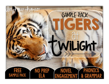 Tigers at Twilight NO PREP (ELA) SAMPLE
