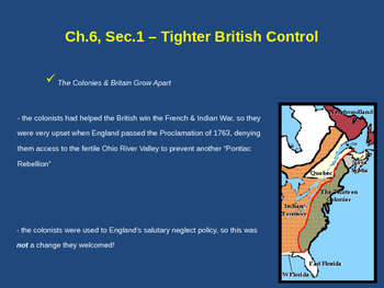 Tighter British Control