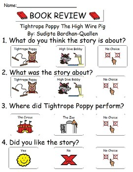 Book Review - Tightrope Poppy and the High Wire Pig