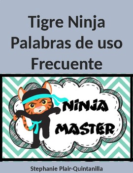 Tigre Ninja Palabras de Uso Frecuente