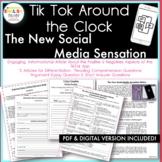 """The New Social Media Sensation-TikTok™"" Article & Activities {PDF & DIGITAL}"