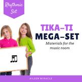 Songs, Activities, and Games to Teach Tika-Ti/ Tiri-Ti {Bundle}