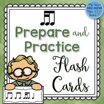 Rhythm Flash Cards: Tika-Ti Prepare and Practice Cards