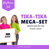 Songs, Activities, and Games to Teach Tika-Tika/ Tiri-Tiri {Bundle}