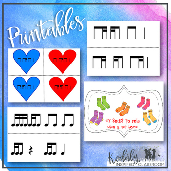 Tika-ti Bundle (Two sixteenth/eighth note)