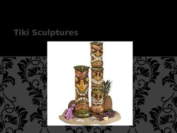 Tiki Clay Scutlpures