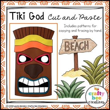 Tiki God Cut and Paste