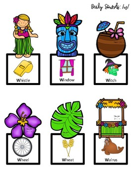 Tiki Luau Sensory Stakes: Early Sounds