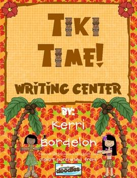 Tiki Time! A Hawaiian Writing Center