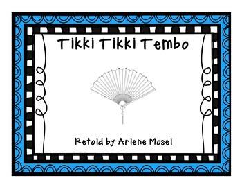 Tikki Tikki Tembo {{FREE small group unit}}